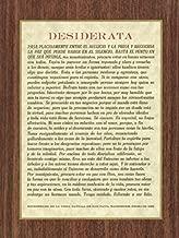 US Gifts Spanish Desiderata - Print (Pack of 100)