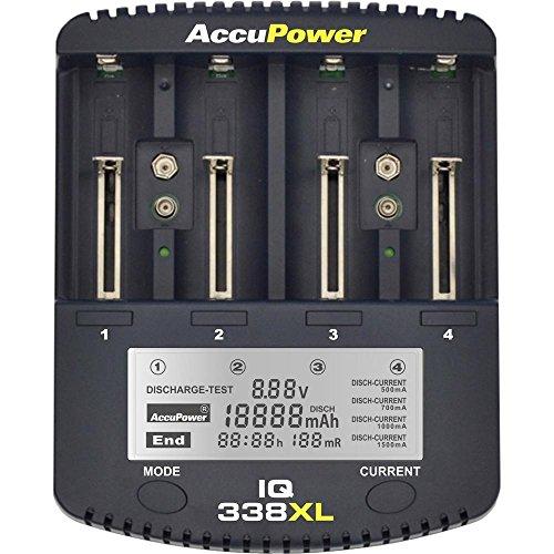 ACCU Power RUNDZELLEN-LADEGERÄT IQ338XL