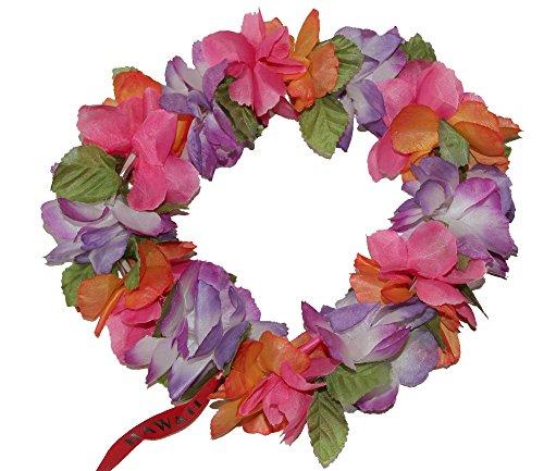 The Hawaii Elastic Headband-haku lei (Multicolor)