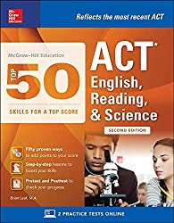 professional McGraw-Hill Education: Excellence, 50 Best ACTs for Runners English, Reading, Scientific Skills …