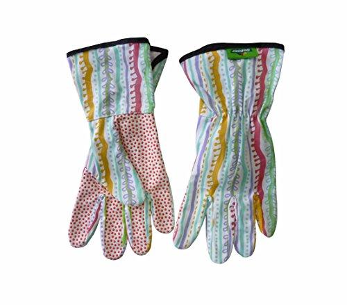 Dehner Damenhandschuh, Gartenhandschuh, Grip Pastell-Trend, Größe 9 / L