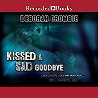 Kissed a Sad Goodbye audiobook cover art