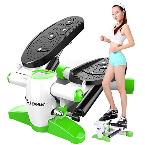 Buy Bargain ROCK1ON Indoor Stair Stepper Portable Home Gym for Women and Man Climbing Machine Cardio...