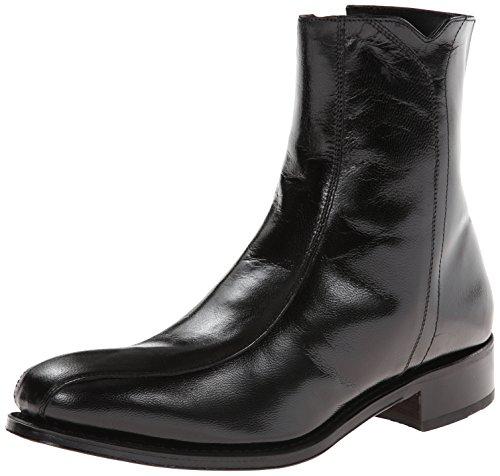 Florsheim Men's Regent Motorcycle Boot, Black, 9 3E US