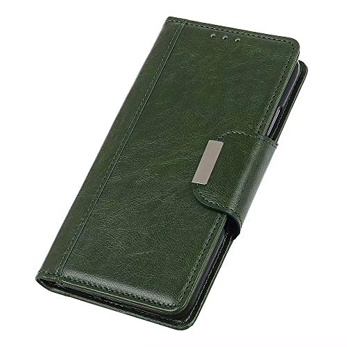 OnePlus Nord Flip Case, OnePlus Nord Wallet Case, Futanwei [Magnetic Closure] Full Body Protective Premium PU Leather Wallet Phone Case Cover with Card Holder for OnePlus Nord, Green