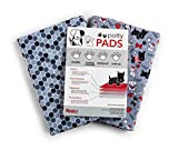 Caldwell's Pet Supply Co. Extra Large 31' x 35' Washable (2 Pack) of Premium Pee Pads for Dogs, Waterproof, Reusable Absorbent Potty Pads for Travel and Dog Training