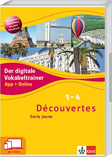 Klett Lerntraining Découvertes 1-4 Série Bild
