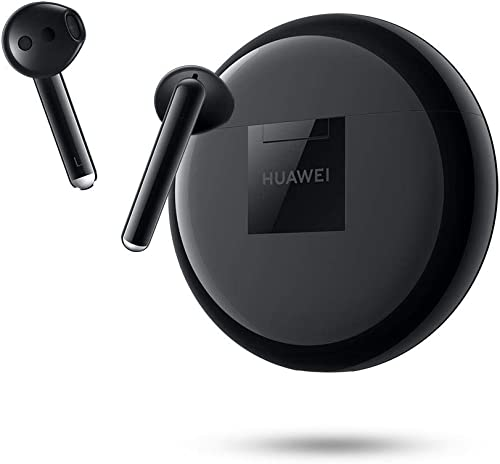 HUAWEI FreeBuds 3 Ecouteurs Sans-fil avec Réduction Active du Bruit (Bluetooth 5.0, Chargement Sans-fil, Processeur K...