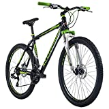 KS Cycling Mountainbike Hardtail 27,5' Compound schwarz-grün RH 51 cm
