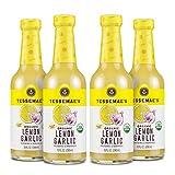 Tessemae's Organic Lemon Garlic Dressing and Marinade, Whole30 Certified, Keto Friendly, USDA...