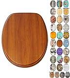 Sedile WC con chiusura ammortizzata | Grande scelta di sedili WC da legno robusto e di alt...