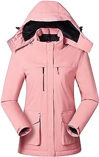 YGCLOTHES Podgrzewana kurtka, z 3 strefami grzewczymi ładowanie USB lekka kurtka zimowa, na polowanie, na zewnątrz, kempin...