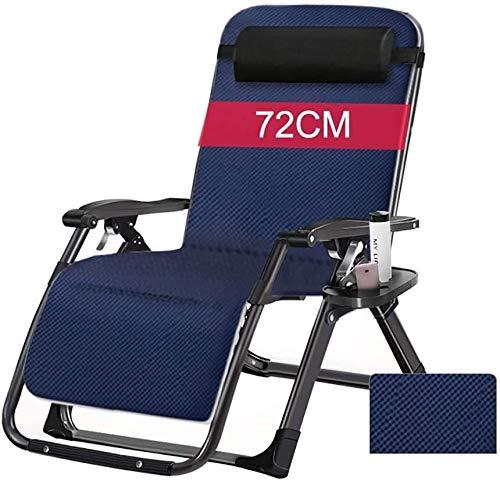 Sun loungers Sun loungers Outdoor Leisure Beach Chair, Chair for Heavy Duty People Foldable Portable Reclining Lounger with Cushion & Headrest Sun lounger
