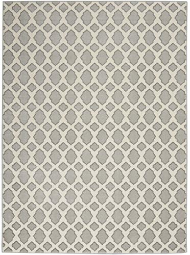 Inspire Me Home Decorinspire Me Home Decor Joli 5 X 7 Area Rug 5 3 X 7 3 Grey And Ivory Dailymail