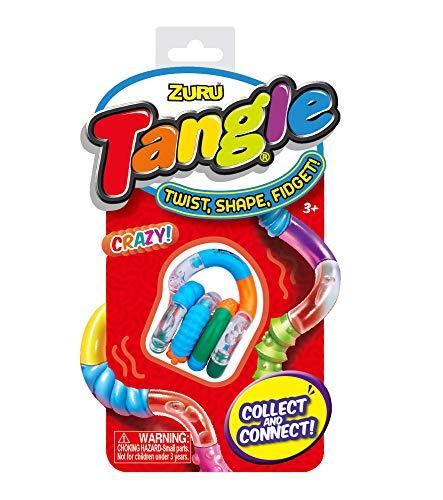 Tangle Classic and Crazy, sortiert, therapeutisches Spielzeug, ideal zum Stressabbau, fördert Koordination und Feinmotorik, beliebig drehbar