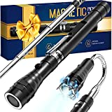 Gifts for Men on Fathers Day Dad Gifts from Wife Daughter Kid, Magnetic Tool Pickup with LED Light, Birthday Men Gifts for Guys Dad Husband Boyfriend Him Extending Magnet Tool, for Hard to Reach Place