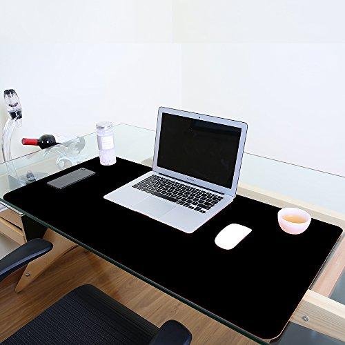 Alfombrilla de escritorio grande, impermeable, de piel sint�