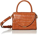 Steve Madden LACIE Top Handle Bag, Croco Cognac