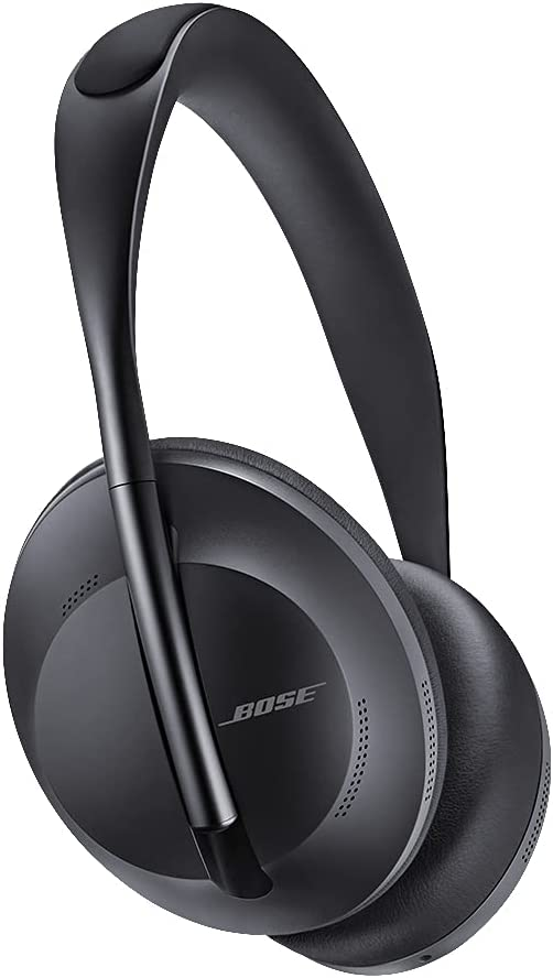 Over-Ear Black Wireless Headphones with Built-In Microphone for Clear Calls & Alexa Voice Control