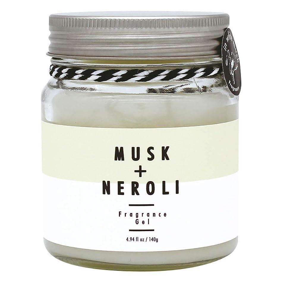承知しました鎖不変ノルコーポレーション more room フレグランスジェル ホワイトムスク&ネロリの香り 140g