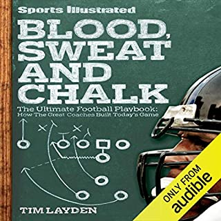 Blood, Sweat and Chalk audiobook cover art