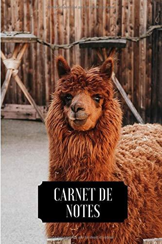 Carnet de Notes: Journal | Lama Alpaga | 6x9 pouces,120 pages |Papier ligné | Couverture souple | Idée de cadeau parfait pour les amoureux de la nature PDF Books