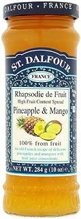 St Dalfour(サン・ダルフォー)  Pineapple & Mango Fruit Spread パイナップルマンゴーフルーツスプレッド 284 g