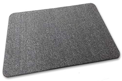 Deko-Matten-Shop Fußmatte Olefin, Schmutzfangmatte, rechteckig, 30x50 cm, grau, in 16 Größen und 5 Farben