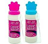 Pet Touch 120 ml Catnip Fun Burbujas para gatos y gatitos que contiene aceite natural de gato para juego interactivo (azul y rosa (240 ml)