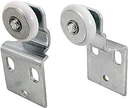 Prime-Line N 7533 Kit de rolo para porta de armário deslizante, 1,9 cm Diâmetro da roda, inclui 1,9 cm e 1,27 cm Pares off...