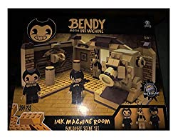 Collect and build the iconic characters and scenese from Bendy and the Ink Machine! Includes 3 construction mini-figures Bricks compatible with most major brands! Age 14+