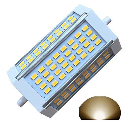 R7s Dimmbare Glühbirne J118 LED 118 mm 30 W Äquivalent 300 W Halogen Glühlampe Warmes Licht 3000k Ac220v 3000lm Double Ended J LED Flutlicht Boden Standlicht (3000 K Warmweiß.