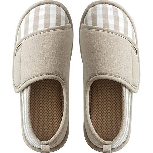 [Sanaris] ルームシューズ スリッパ 介護シューズ 介護スリッパ リハビリシューズ 介護靴 高齢者用シューズ 滑り止め