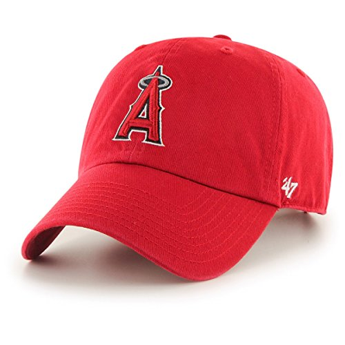 '47 Brand Relaxed Fit Cap - MLB Clean UP Los Angeles Angels