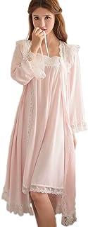 ثوب نوم فيكتوري للنساء قطعتين ملابس نوم نوم قطعة أثواب للنوم رويال بيجامة صاخبة