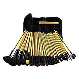 FELICILII Pincel de Maquillaje Profesional for Maquillaje de Artista Pincel de Maquillaje de Madera de 32 Piezas (Color : Color de la Imagen)