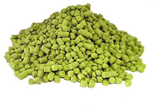 CITRA Hop-Pellets | 100 g der frischesten USA-Pellet-Sorte 2019 | Craft Ale Zutaten für Bierbrauen | Verwenden Sie zum Kochen oder Trockenhopfen für ein perfektes Aroma Ihres fertigen Bieres