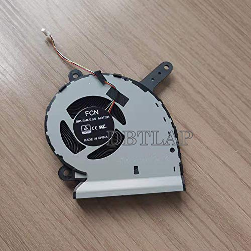 DBTLAP Ventilador de la CPU Compatible para ASUS ROG Strix G531G G531GT Ventilador DFS5K12115491M FLKJ