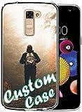 Loyobo Coque de protection en TPU pour LG K10 avec film protecteur d'écran Transparent