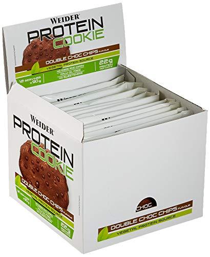 Weider Protein Cookie, Double Choc Chips, 2160 g
