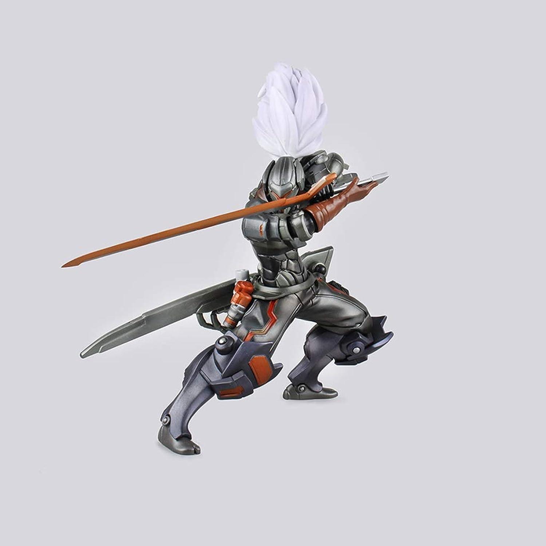 Anime Personaggio del Gioco Yasuo Lega di Attrezzature Jianhao modellolo Statua Alta 25cm Decorazioni Giocattolo DABEAB