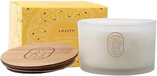 Distillery Awaken Lemon Blossom Soy Candle 450 g, 450 grams
