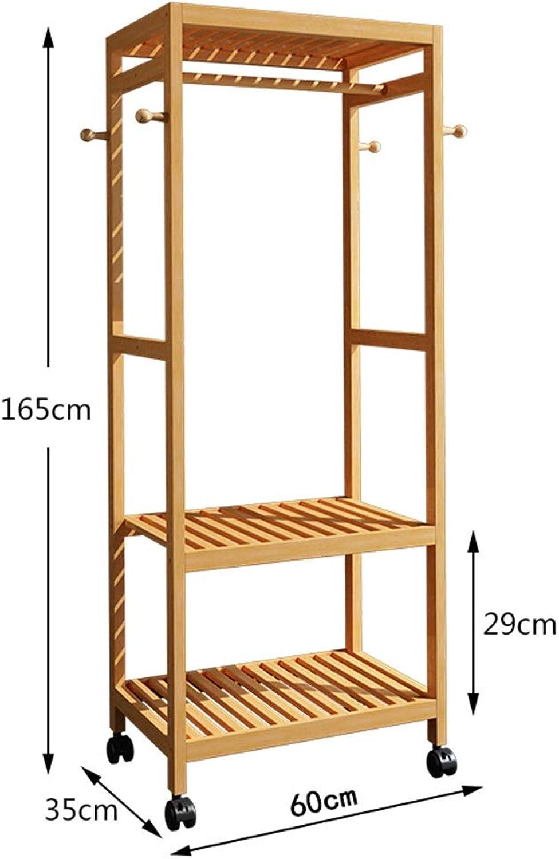WYQSZ Coat Rack Hanger Floor Bedroom Simple Coat Rack Household Clothes Rack Creative Storage Storage Rack Coat Rack - Coat Rack 8563 (Design   A)