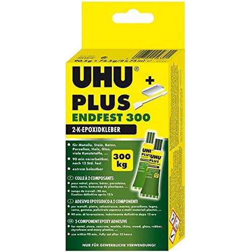 UHU 456301 Zwei-Komponenten-Kleber Plus Endfest 163g