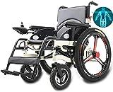Sillas de ruedas eléctricas para adultos Plegable silla de ruedas eléctrica,...