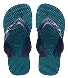 Havaianas Kids Max - Zapatillas infantiles (talla 31/32), color azul marino y azul