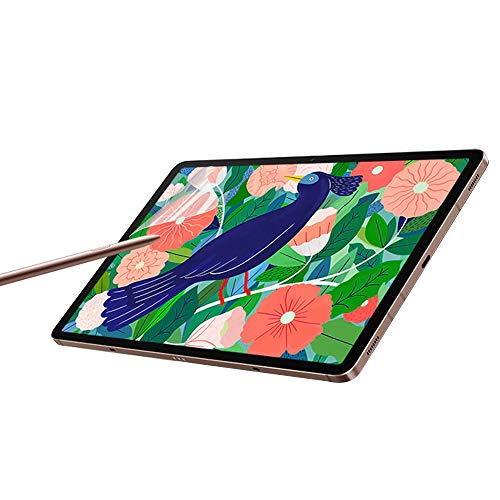 Paperfeel Galaxy Tab S7+ Screen Protector,Samsung Galaxy Tab S7+ 12.4 inch Matte PET Film for Drawing No Glare and Paper Texture, Compatible with S-Pen and Face ID