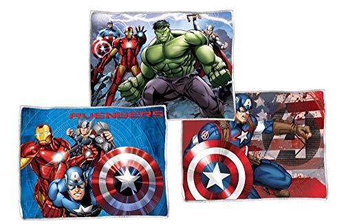 Star Licensing 3 TOVAGLIETTE in Tessuto da TAVOLA - Marvel Avengers