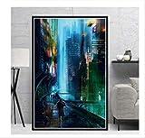 DPFRY Leinwandbild Poster Drucken Blade Runner 2049
