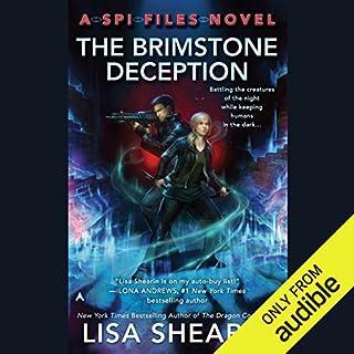 The Brimstone Deception audiobook cover art